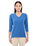 DP184W Devon & Jones Ladies' Perfect Fit Bracelet Length V-Neck Top