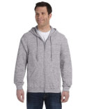 G186 Gildan Adult Heavy Blend™ 8 oz., 50/50 Full-Zip Hooded Sweatshirt