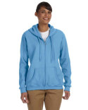 G186FL Gildan Ladies' Heavy Blend™ 13.3 oz./lin. yd., 50/50 Full-Zip Hood