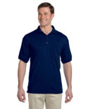 G890 Gildan Adult DryBlend® 9.4 oz./lin. yd., 50/50 Jersey Polo with Pocket
