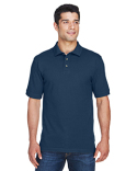 M200T Harriton Tall 6 oz./yd² Ringspun Cotton Piqué Short-Sleeve Polo
