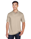 M345 Harriton Men's Advantage IL Snap Placket Performance Polo