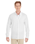 M425 Harriton Men's Pilbloc™ V-Neck Button Cardigan Sweater