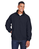 M740 Harriton Adult Fleece-Lined Nylon Jacket
