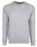 N9000 Next Level Unisex French Terry Raglan Crew