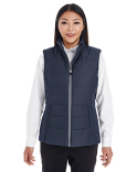 NE702W Ash City - North End Ladies' Engage Interactive Insulated Vest