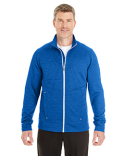 NE704 North End Men's Amplify Mélange Fleece Jacket
