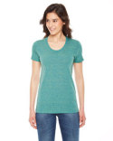TR301 American Apparel Triblend Short-Sleeve Track T-Shirt