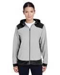 TT94W Team 365 Ladies' Rally Colorblock Microfleece Jacket